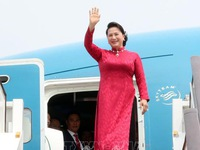 NA Chairwoman begins official visit to China