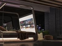 Giường thông minh dành cho người thích nằm xem phim tại nhà