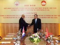 Thúc đẩy quan hệ hợp tác toàn diện Việt Nam - Cuba