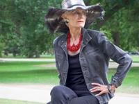 'Bà già phong cách' khuấy động Tuần lễ Thời trang New York