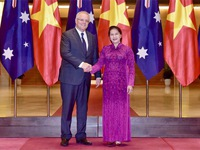 NA Chairwoman meets with Australian Prime Minister