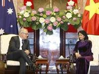 Vice President receives Australian PM Morrison