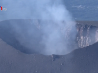 Nhật Bản cảnh báo nguy hiểm do núi lửa Asama phun trào