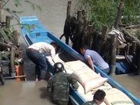 'Chiêu trò' đưa đường cát nhập lậu qua biên giới An Giang