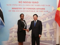 Increasing cooperation between Vietnam and Botswana
