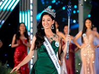 Luong Thuy Linh crowned Miss World Vietnam 2019