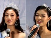 Hoa hậu Lương Thùy Linh, Á hậu 1 Kiều Loan tự tin hát tiếng Anh 'chay'