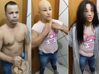 Trùm ma túy khét tiếng tại Brazil giả dạng con gái để vượt ngục