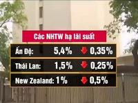 Một loạt ngân hàng Trung ương tại châu Á hạ lãi suất