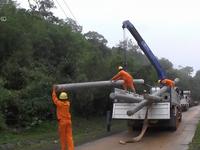 Quảng Trị khắc phục sự cố điện vùng núi