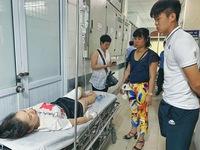 Nữ CĐV trúng pháo sáng trận CLB Hà Nội – Nam Định phải phẫu thuật ghép da