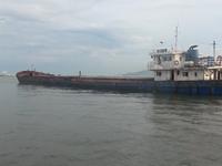 Cảnh sát biển thu giữ hơn 2.500 tấn than cám không rõ nguồn gốc