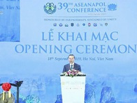 39th ASEANAPOL conference inaugurated in Hanoi