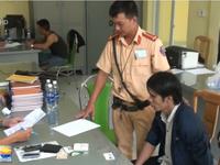 Cảnh sát giao thông truy đuổi 20km bắt đối tượng trộm cắp xe máy