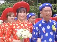 Ấm áp lễ cưới tập thể của 100 đôi công nhân trong ngày Quốc khánh 2/9