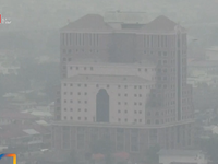 Ô nhiễm không khí nghiêm trọng do khói mù tại Indonesia