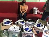 Phát hiện 4,5 kg ma túy giấu trong đáy nồi cơm điện