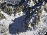 Mont Blanc glacier at risk of collapse