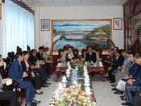 NA Chairman Nguyen Thi Kim Ngan visits Lao Vientiane Province