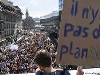 100.000 người tuần hành tại Thụy Sĩ chống biến đổi khí hậu