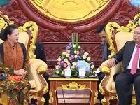 Tăng cường quan hệ đặc biệt Việt Nam - Lào