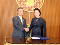 NA Chairwoman meets speaker of Thai House of Representatives