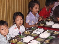Schools become home for ethnic children