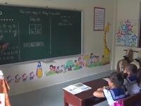 Năm học mới của các em nhỏ trên quần đảo Trường Sa