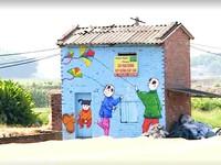 Khám phá làng bích họa đầu tiên của Hà Nội