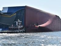 Lật tàu chở hàng ở Mỹ, 4 người mất tích