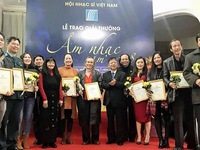 Vietnamese Musicians Association honours notable musical works