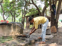 Expanding the water supply system in rural areas