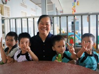 Abandoned children find a home with nuns in Lâm Đồng