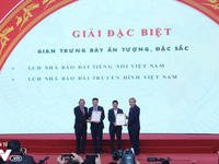 Vietnam Television won 10 awards at the National Press Festival 2019