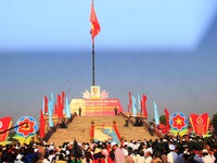 Flag- raising ceremony in Quang Tri marks National Reunification Day