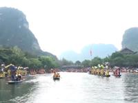 Trang An festival underway in Ninh Binh