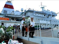 New Year's gifts ready to be sent to Truong Sa Archipelago