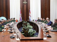 Vietnam, Russia hold 4th defence strategy dialogue
