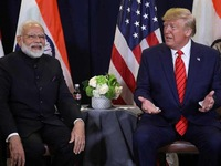 Trump considering visit to India next month