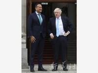 Irish, British PMs pledge to restore collapsed NI assembly
