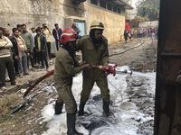 Cháy nổ gây sập nhà máy ở Ấn Độ