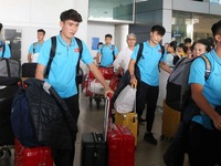 Vietnam U23s return to HCM City for final preparation stage before AFC U23 Championship
