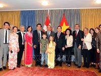 Deputy PM extends Tet greetings to overseas Vietnamese in Switzerland