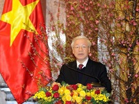 Party, State leader extends greetings on Year of the Rat