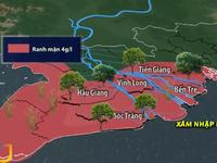 Hạn mặn nghiêm trọng đe dọa vùng ĐBSCL