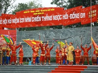 Hanoi commemorates Quang Trung Emperor's Ngoc Hoi-Dong Da Victory