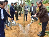 Tree-planting festival launched in Tuyen Quang province