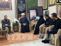 Lãnh đạo các nước thảo luận về tình hình Trung Đông