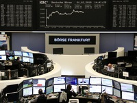 Chứng khoán châu Âu bật tăng trở lại