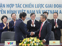Signing of strategic cooperation agreement between Vietnam Television and Vietnam Airlines
